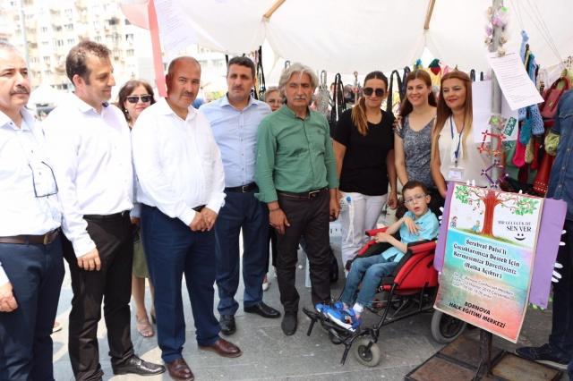 Kaymakam Fatih GENEL Geleneksel Yıl Sonu Sergisini Açtı