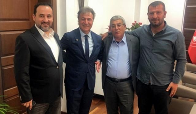 Başkan Dr. Mustafa İduğ'u EGE AJANS olarak ziyaret ettik