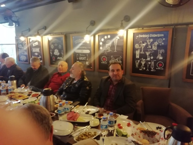 Bornova'lı İşadamları Dr.Mustafa İduğ'la kahvaltıda buluştu