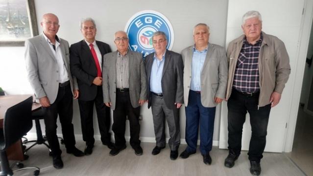 İzmir Sosyoloji Derneği Ege Ajansımızı Ziyaret Etti