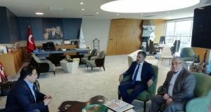 Başkan Serdar Sandal'ı Ege Ajans olarak ziyaret ettik
