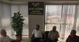 CHP'nin Bursa Büyükşehir Belediye Başkan Adayı Mustafa Bozbey Ege Ajansı Ziyaret Etti
