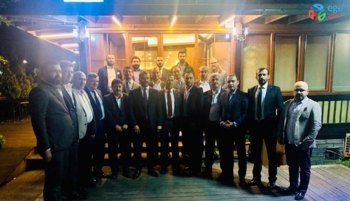Başkan Avşar, İstanbul'da federasyon başkanları ile bir araya geldi