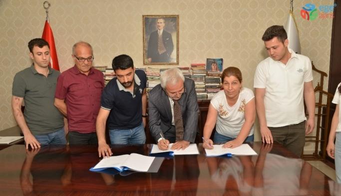 Büyükşehir Belediyesi, toplu iş sözleşmesi imzaladı