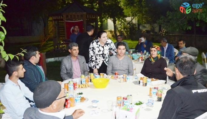 Çermik'te şehit aileleri onuruna iftar yemeği verildi