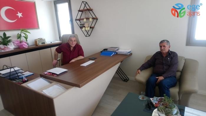 Çiğli Kulüpler Birliği Başkanı Osman Oflatçı Ege Ajansa Ziyarette Bulundular