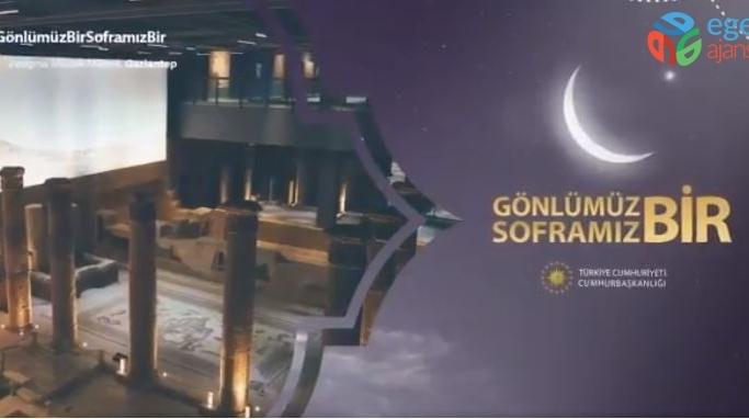 Cumhurbaşkanlığı Gaziantep ve baklavayı tanıttı