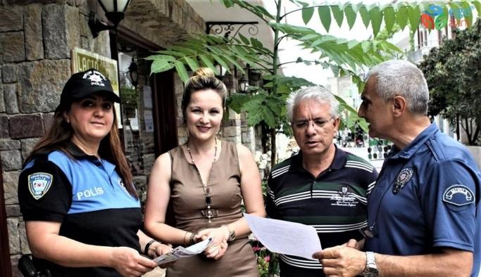 Datça polisinden dolandırıcılığa karşı uyarı