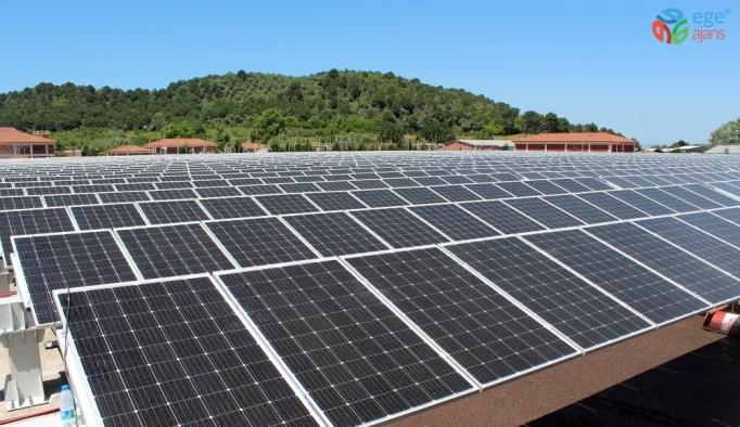 Enerjisinin 3'te 1'ini güneşten sağlayan tek arıtma tesisi olacak