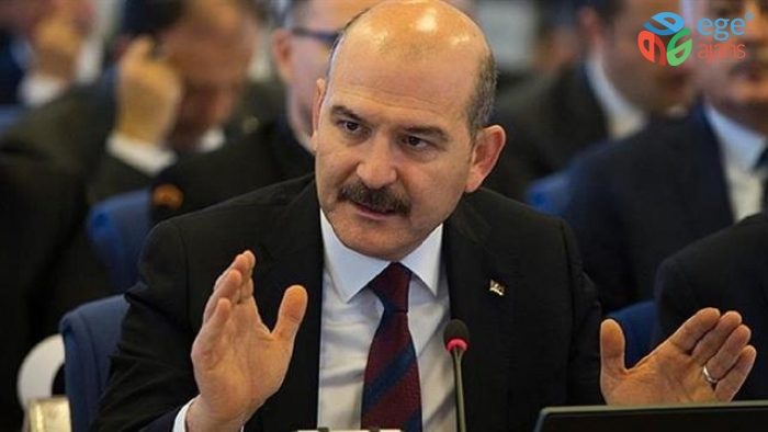 İçişleri Bakanı Soylu, Sarıyer'de muhtarlarla bir araya geldi