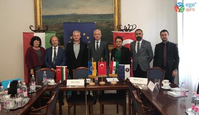 Kütahya Belediyesi, Macaristan'ın Pecs Belediyesi ile iş birliği yapacak