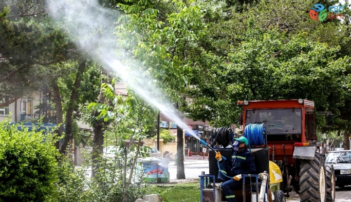 Meram Belediyesi, ilaçlama çalışmalarına başladı