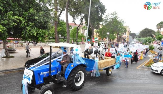 Milas Süt Birliğ'nden şenlik havasında kutlama
