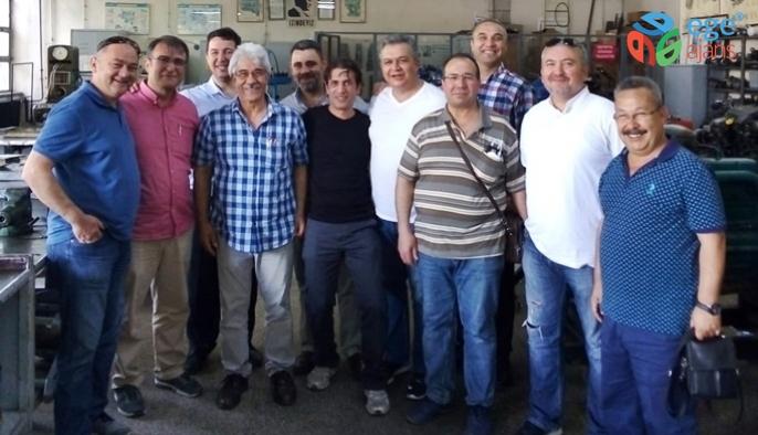 Motor Meslek Lisesi Mezunları 33 yıl aradan sonra Ders Başı Yaptı