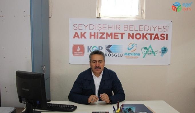 Seydişehir'de AK Hizmet Noktası vatandaşların hizmetinde