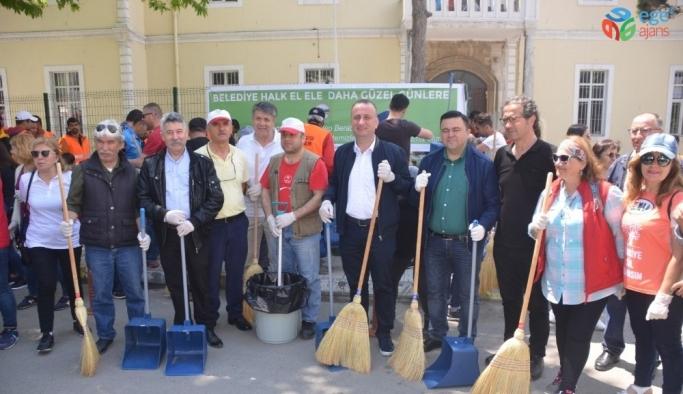Sinop'ta 'belediye-halk el ele, daha güzel günlere' kampanyası