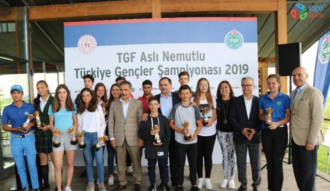 TGF Aslı Nemutlu Türkiye Gençler Şampiyonası sona erdi