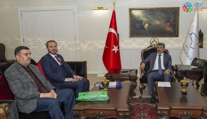 Vaiz Mustafa Sadıkoğlu'nun Van ziyareti