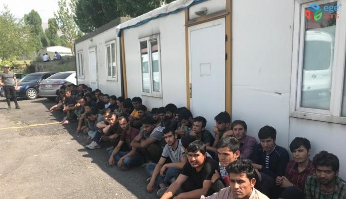 Van'da 77 kaçak göçmen yakalandı