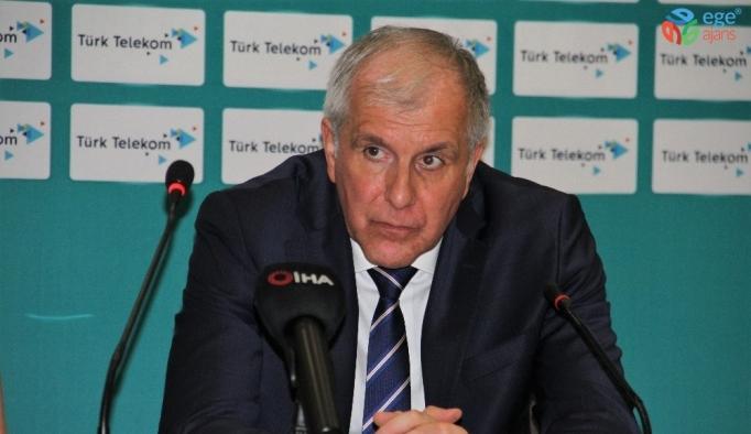 """Zeljko Obradovic: """"Küçük detaylar maçın sonucunu etkiledi"""""""