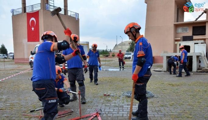 Adana AFAD'dan deprem tatbikatı