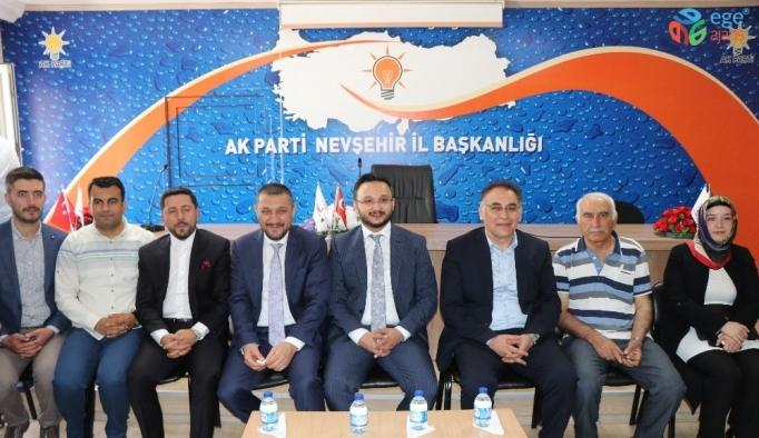 AK Parti İl Başkanlığında bayramlaşma programı düzenlendi