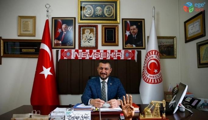 AK Parti Nevşehir milletvekili Açıkgöz, 'Ramazan Bayramı'mız mübarek olsun'