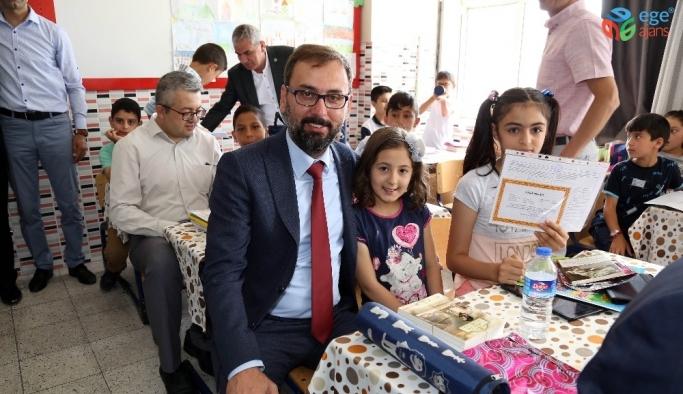 Aksaray'da 83 bin öğrenci karnelerini aldı