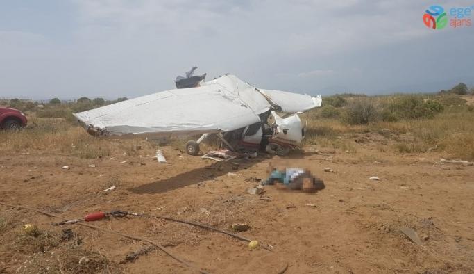 Antalya'da eğitim uçağı düştü: 1 ölü