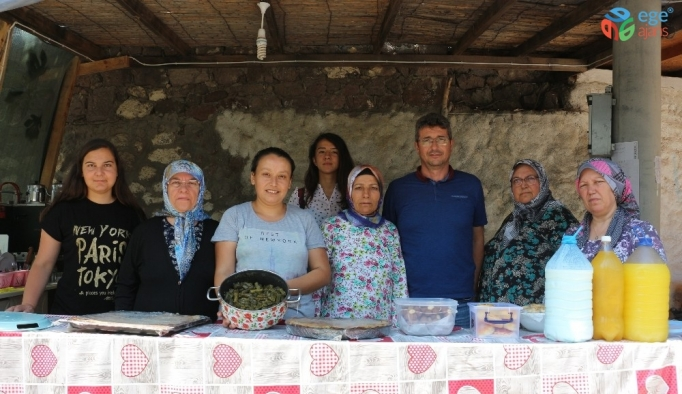 Babakale köyünde kadın dayanışması
