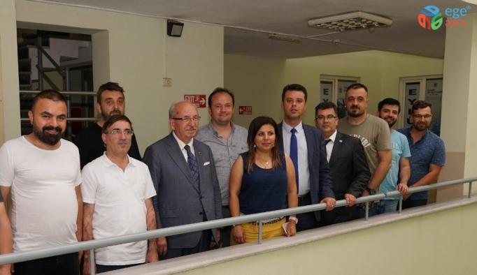 Başkan Albayrak, Çorlu'daki gazeteciler ile bir araya geldi
