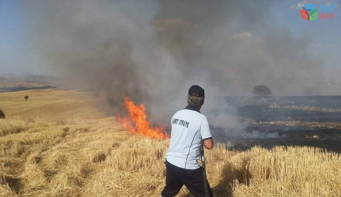 Belediyeden vatandaşlara anız yangınlarına karşı duyarlılık çağrısı
