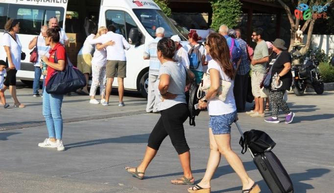 Bodrum' İstanbul'a çıkarma yaptı