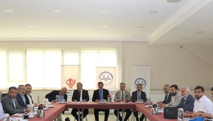 Bölge il müftüleri ile ilahiyat fakültesi dekanları Erzincan'da biraraya geldi