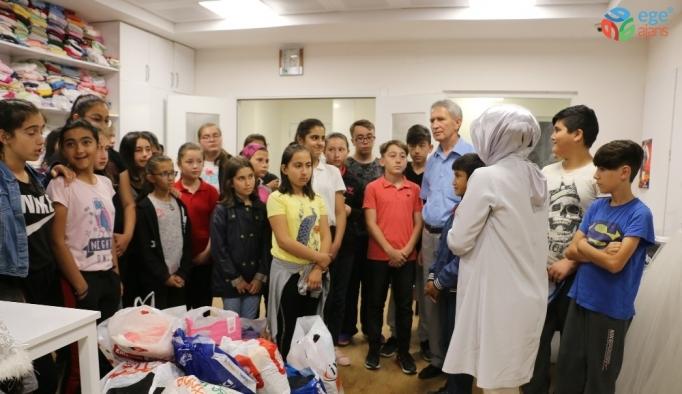 Bolu Belediyesi hayırsever çocukları bir araya getirdi