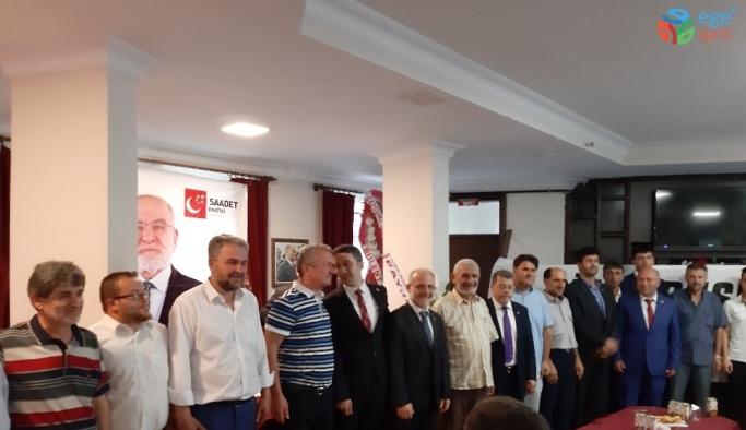 Çaycuma Saadet Partisi 6.Olağan kongresi yapıldı