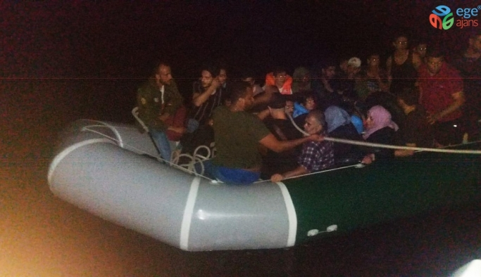 Didim'de 30 göçmen yakalandı