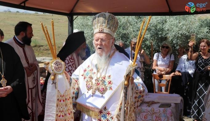 Fener Rum Patriği Bartholomeos Kapadokya'da pazar ayini yönetti