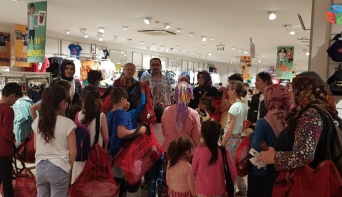 Giresun'da çocukların bayramlık sevinci