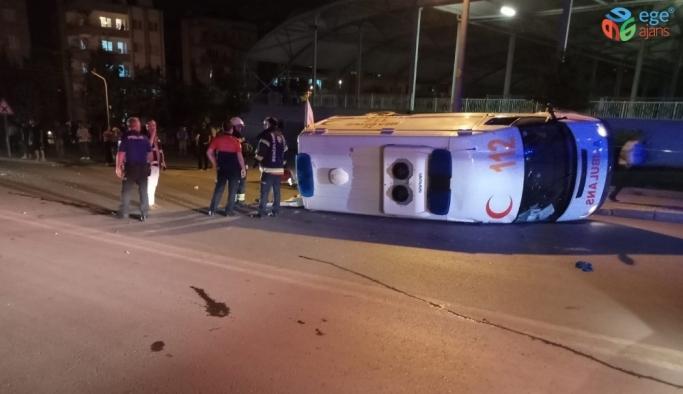 İl Sağlık Müdüründen kazada yaralanan 112 personeline geçmiş olsun mesajı