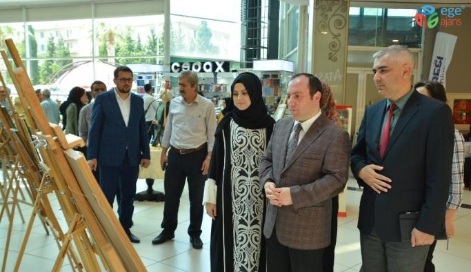 Karesi'de Geleneksel Türk sanatları sergisi