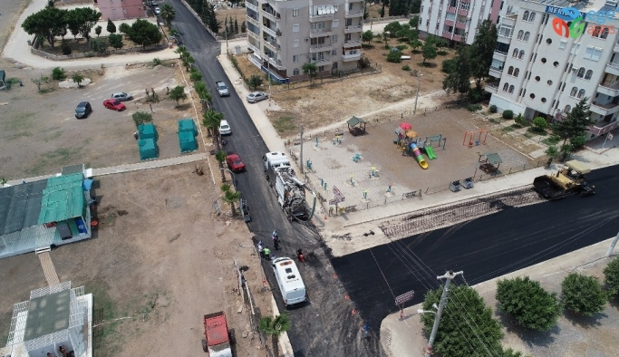Kocahasanlı sahil yolu tamamlandı