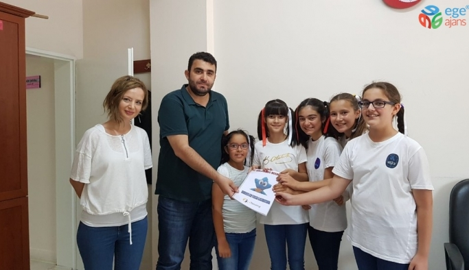 Mehmet Gedik Ortaokulu'ndan proje ziyareti