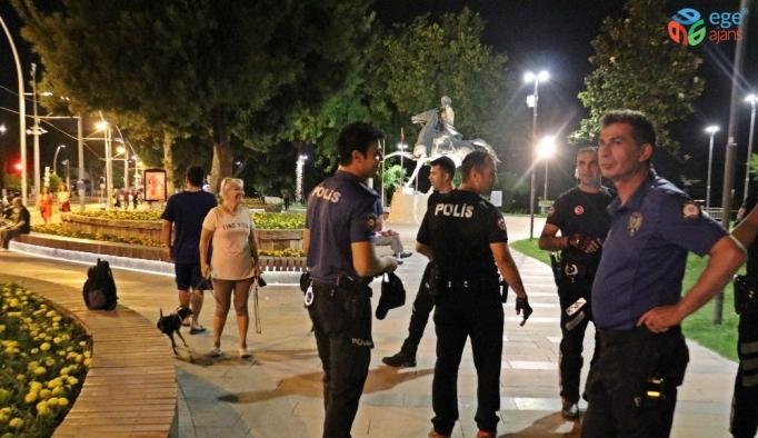 Network uzmanı gencin unuttuğu sırt çantası, polisi alarma geçirdi