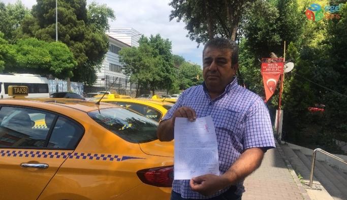 (ÖZEL) Beylikdüzü'nde darp edilen taksici konuştu
