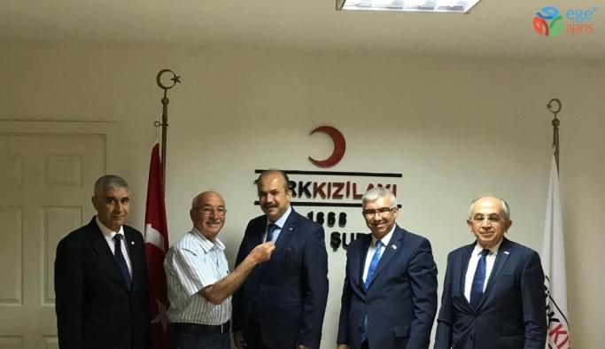 """Saygılı: """"Türk Kızılayı sorunlara çözüm odaklı yaklaşıyor"""""""