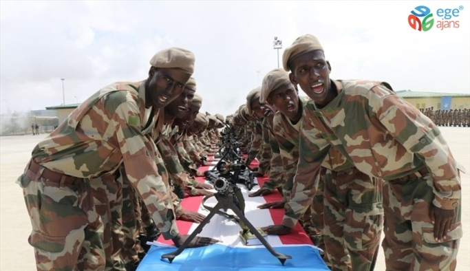 Somalili askerler için yemin töreni yapıldı