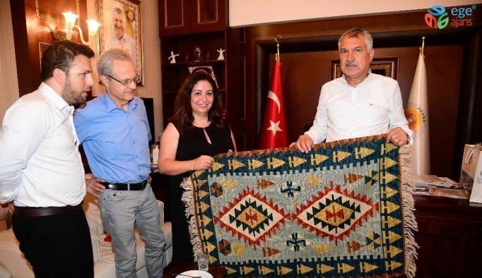 Adana'nın mega projeleri için Karalar'a yıldırım ziyaret