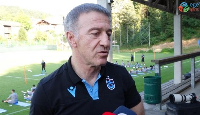 """Ağaoğlu: """"Futbolcu satarak para kazanacağımız sezon bu sezon değil"""""""