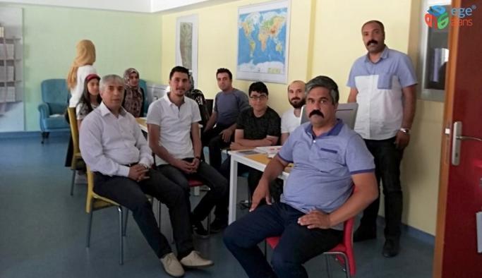 Ahlat'ta LGS tercihleri devam ediyor